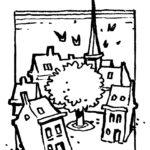 dessin de Frank Pé