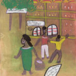 Ibrahima Kebe, Quartier Léopold, décembre 2007