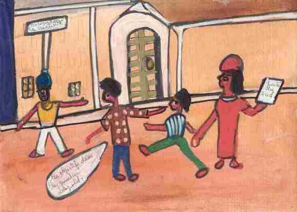 """""""Encourager la créativité"""" (C) Ibrahima Kebe"""