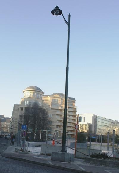 Un monument symbolique aux travaux inutiles (Photo Nicolas Bernard)