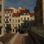 rue Godecharle vue du mail, septembre 2008 - Photo Stéphane Lagasse