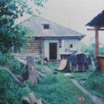 Le bania (sauna) d'une isba de l'Altaï, en Sibérie, Nathalie Melis, mai 2000.