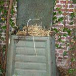 4. Le bac à compost. N.M.
