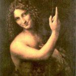 Saint Jean Baptiste peint par Léonard de Vinci, vers 1514