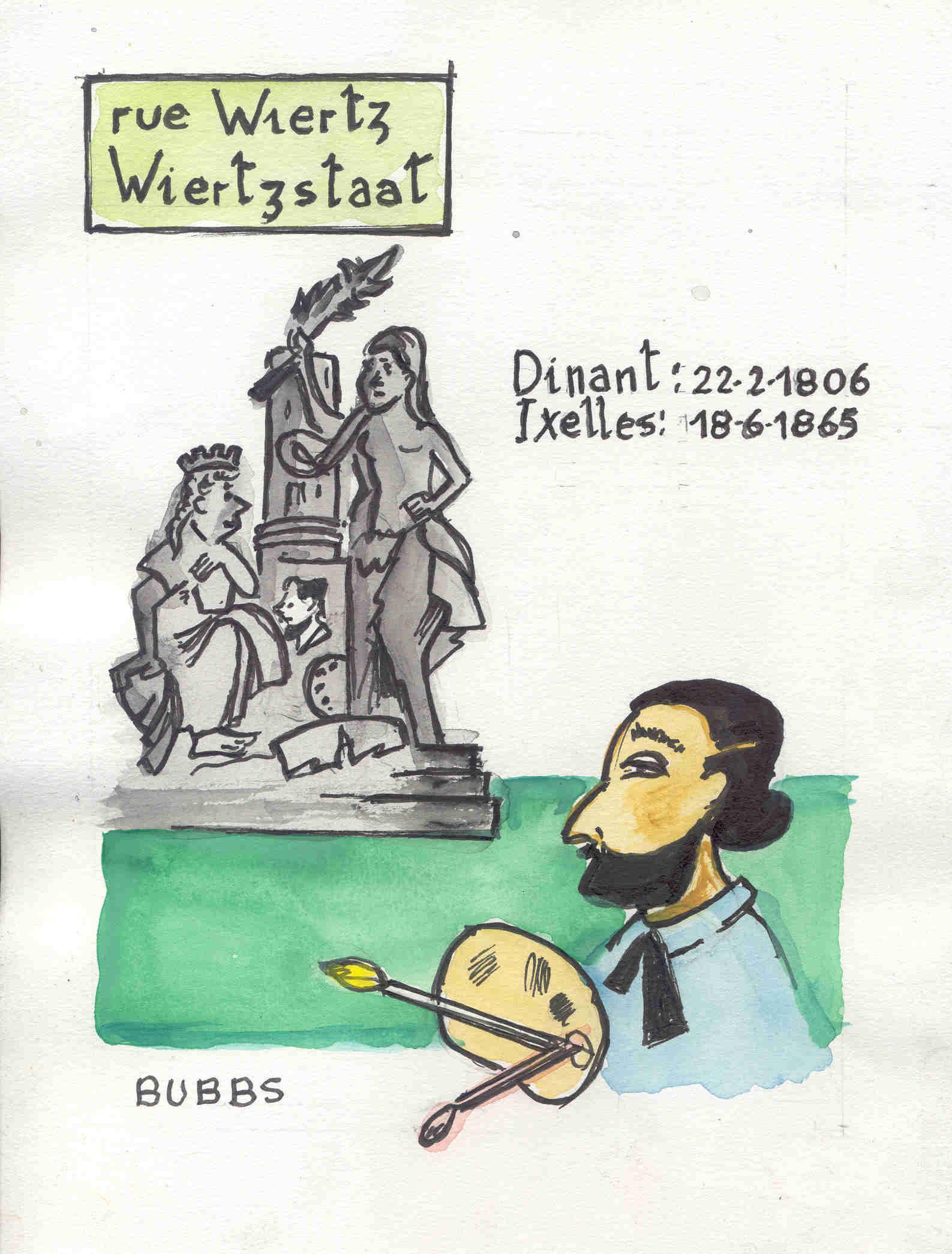 Rue Wiertz par Bubbs