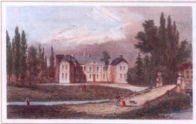 Château (carte de  visite de la Maison Chevalier).
