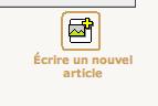 Ecrire un nouvel article