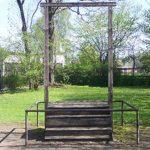 potence de Rudolph Hoss à Auschwitz