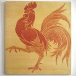 le coq hardi peint par Pierre Paulus