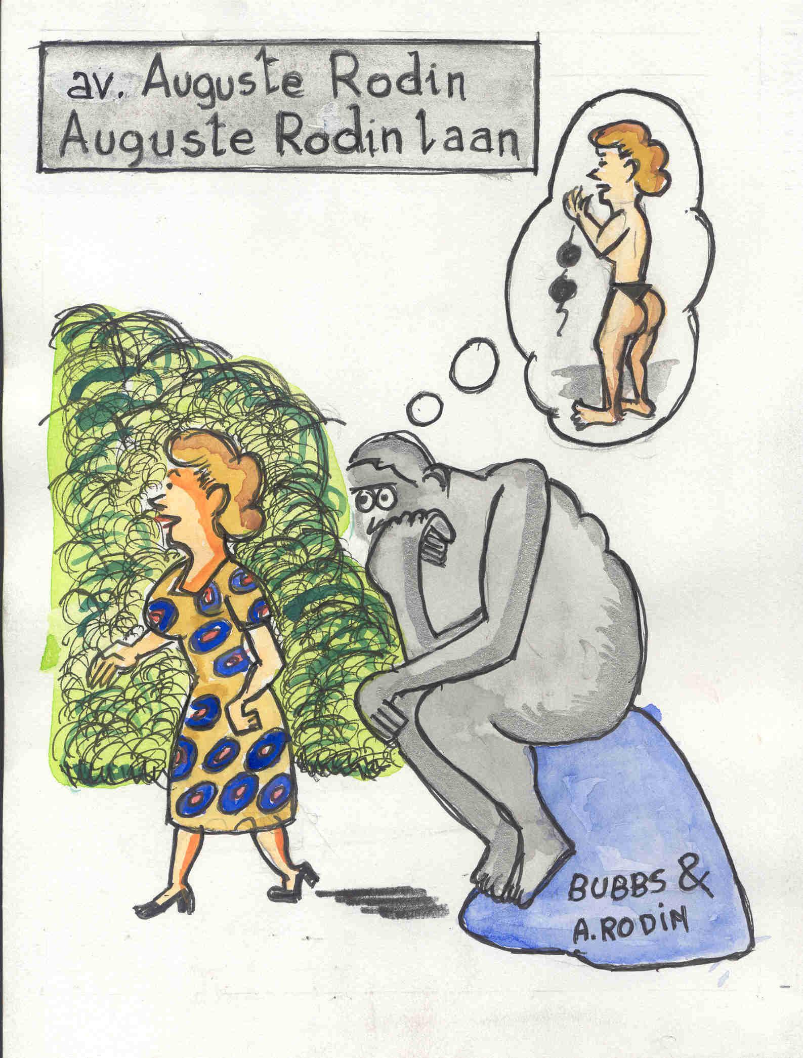 Bubbs. Rue Auguste Rodin