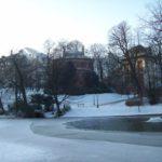 Parc Léopold, janvier 2009