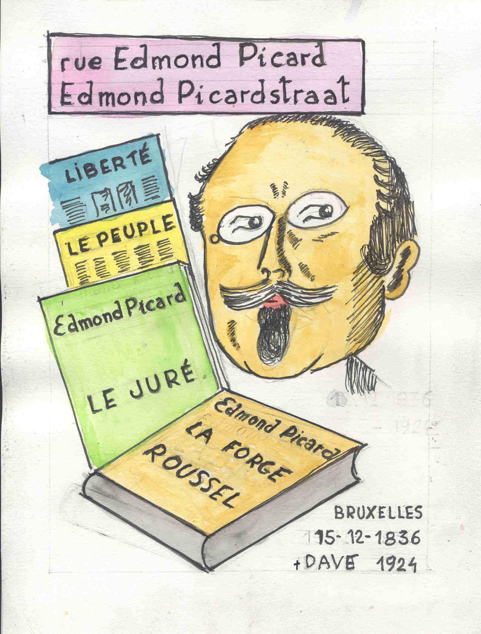 Bubbs. Rue Edmond Picard