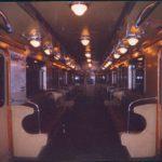 Minuit dans un wagon de métro moscovite. NM. Septembre 2005.