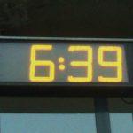 Il est 06h39 place Fernand Cocq