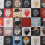 40 Ditalalas, mixed media on canvas, 150 x 240 cm