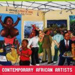 Affiche du 5ème anniversaire Lumières d'Afrique.