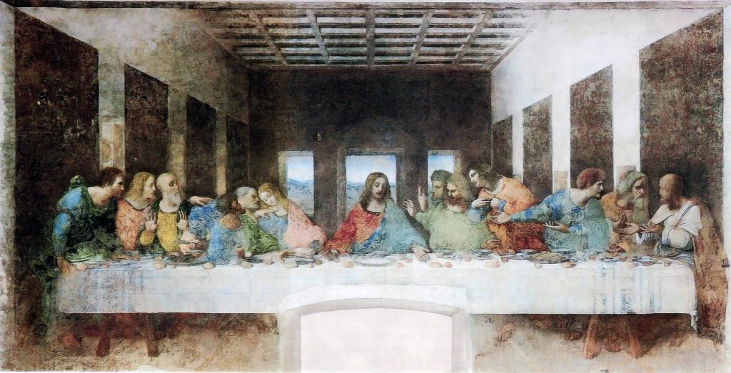 La dernière Cène de Léonard de Vinci, ou plutôt [->art281] de Boris Lehman tournée rue Godecharle en 1985