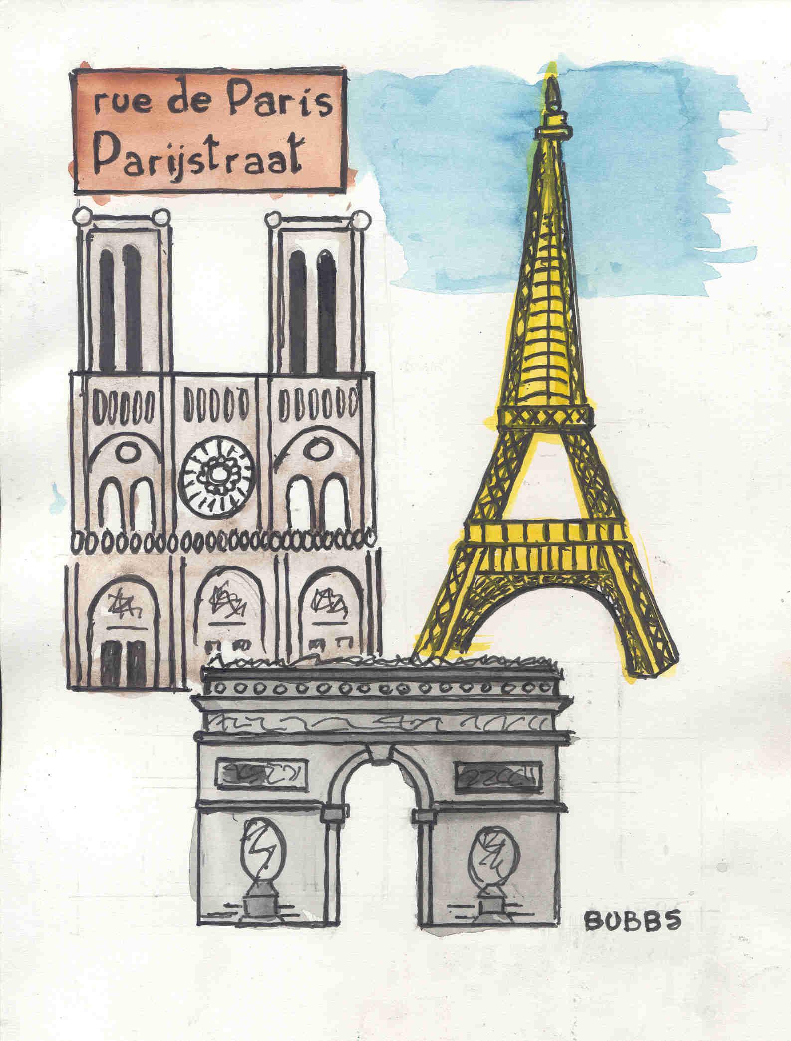 Rue de Paris. Bubbs.