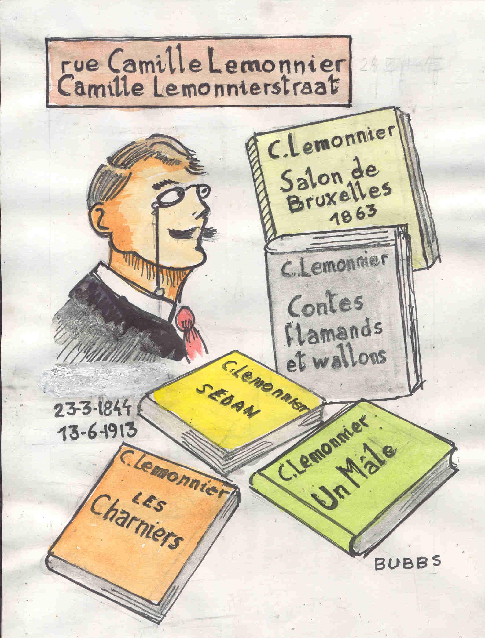 Bubbs. Rue Camille Lemonnier