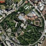 Carte des terrains menacés en 2010. Google Maps.